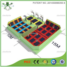 First Manufacturer Large Trampoline Park in China