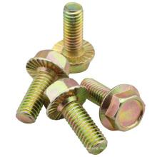 ANSI oder DIN Standard Sechskantflanschschraube (M6X16)