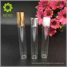 Kleine Klarglas 10 ml Roll-on-Flasche für wichtige Verpackung