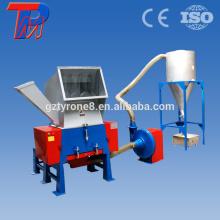 Используйте рециркулировать неныжной пластичной машины дробилки с воздуходувкой и ленточный конвейер