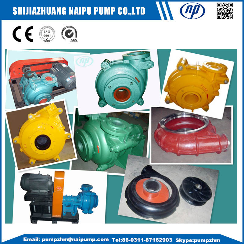 019 AH slurry pump and parts