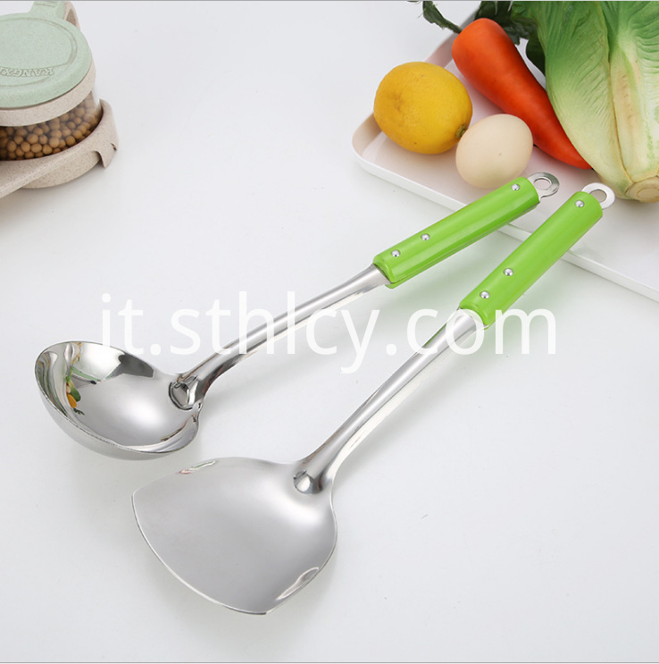 Stainless Steel Soup Ladle Spatula2