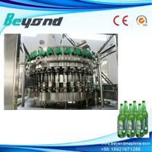 Afrikanische Glasflasche Alkohol Dink Produktionslinie