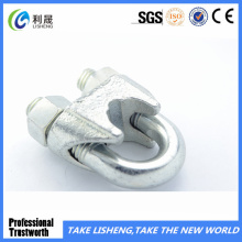 Galivanized DIN 741 Malleable Wire Rope Clips