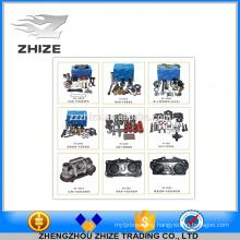 Various types of caliper repair kits for bus parts