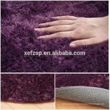 Wohnaccessoire Schlafzimmer Dekorieren Polyester Shaggy Teppich Teppich