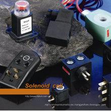 Bobina solenoide de la bomba solenoide para maquinaria textil