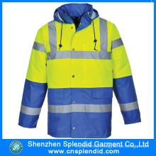 Custom Men Winter Outdoor Reflective Safety Fishing Jackets