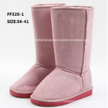 Latest Injection Boots High-Cut Comfortable Snow Boots Winter Boots Stock Shoes (FF328-1)