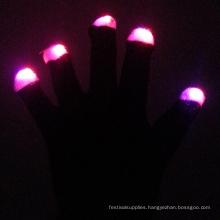 Cotton Dance Flashing Led Light Hip-hop Gloves