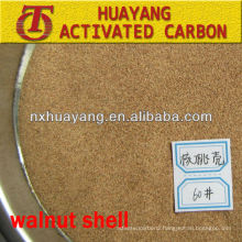 80# walnut shell powder for oil field drilling head