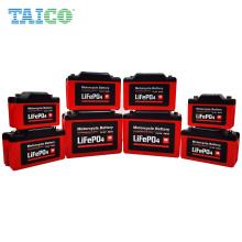 Jumpstarter Battery 2Ah 3Ah 8Ah 12V LiFePO4 Motorcycle startup battery