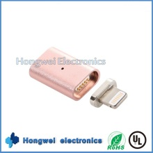 8 Pin Aluminiumlegierung Magnetischer USB Ladeadapter für iPhone ISO