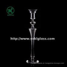 Suporte de vela de vidro para decoração de casa por SGS