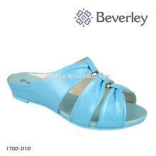 2018 New Design Women Sandal Ladies Flat Leather Sandals