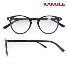 HDCA Gafas ultra delgadas del acetato gafas de ojo redondas marcos ópticos del acetato al por mayor en existencia