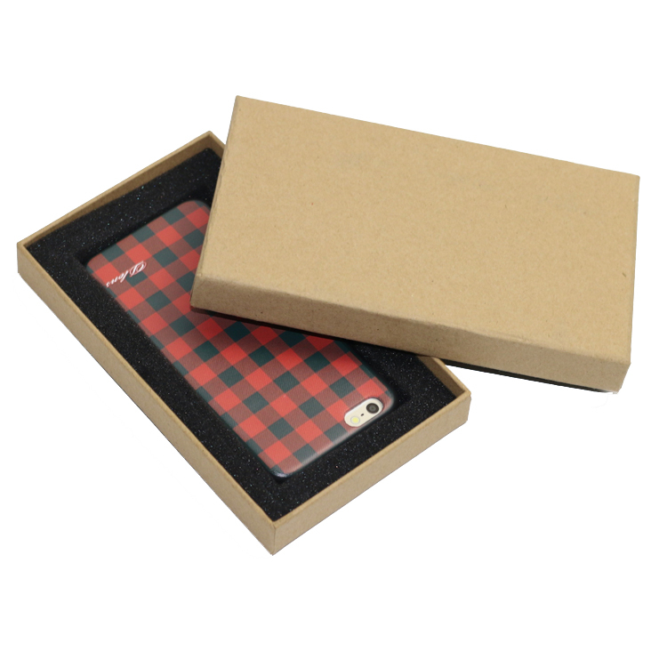 Customized Kraft Paper Phone Shell Packaging Box