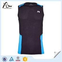 OEM Mens Dry Fit Nylon Sports Singlet Sportbekleidung