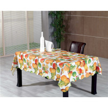 Hot Popular Cheap Colorful PVC Printed Pattern Table Cover Fabric Backing Tablecover
