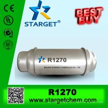 Cilindro da tonelada 926L R1270 & gás de Rropene com alta qualidade & pureza usados como Refrigerant