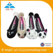 Zapatos de deslizadores de interior de invierno de precio de fábrica para damas