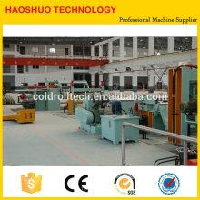 Famoso marca de alta qualidade CR SS SS GI cortador automático de aço e rebobinadeira