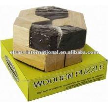 rompecabezas de madera iq / rompecabezas de madera rompecabezas 3D