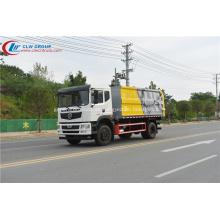 Camión de recolección de residuos sólidos municipales sellados Dongfeng D9