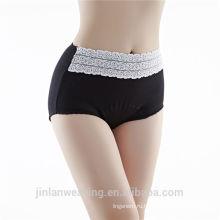 Новый хлопок срок прибытия высокой талией нижнее белье женщин трусики хлопок высокой талией леди трусы для похудения трусики