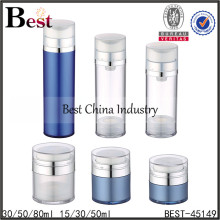 acrylic lotion airless pet bottle,pet airless bottle for cosmetic