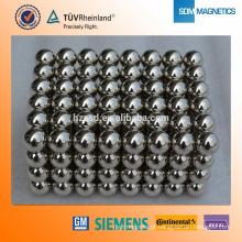 N35 Níquel Revestido Neodymium 3mm com Forma Esfera