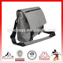 Clássico Leve Casual Diário 14-Polegada Laptop Messenger Bag Unisex Crossbody Bolsa de Ombro Escola