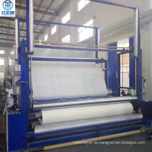 Equipo de secado de tamaño de tela no tejida de poliéster