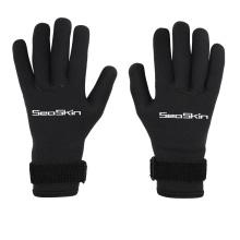 Los guantes largos de neopreno Seaskin salen al aire libre en invierno