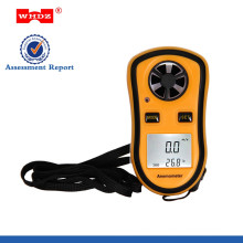 Anemometer Portable Anemometer Anemometer with Temperature Digital Anemometer Hand-held Anemometer WH8908