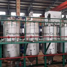 Máquina de refinação de óleo de girassol Refinaria de óleo comestível de pequena escala