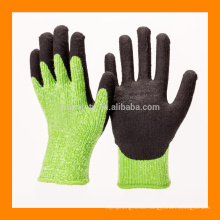 Brushed Acrylic Liner Thick Winter Gloves With Foam Latex Finish Palm Coating/Cut Resistant Warm Glove For Winter