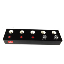 E27 Black Custom Design Acrylic Bulb/Lamp Tester Holder Display