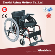 Steel Wheelchair with ISO13485 Certificate