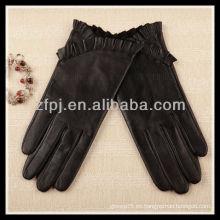 Nueva señora de cuero básica diseñada 2012 de los guantes