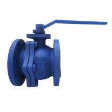 DIN Cast Steel Floating Ball Valve (GQ41F)