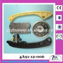 Kit de chaîne de synchronisation de moteur de qualité supérieure de 1.3L pour Mazda 4A90 4A91 4A91-12-006