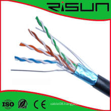 Multi-Pairs Risun Plenum & Riser Cable FTP Cat5e Cable