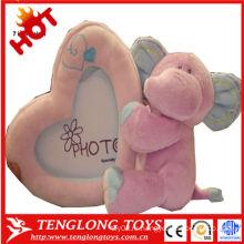 Baby роста запись слона плюшевые игрушки мягкие фото рамка