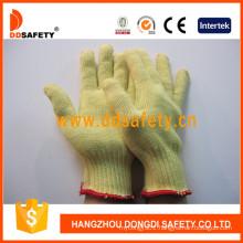 100% 10 Gauge Aramid Fiber Knitted Cut Resistant Gloves Dcr105