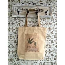 Eco-Friendly e Recycledhemp / saco de compras de algodão orgânico (HOC)