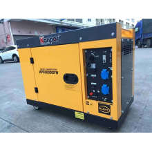 Kp9500dgfn Kanpor 7.5kw 50Hz / 8.5kw 60Hz Silent Soundproof Air Cool Portable Diesel Generator, Silent Generator