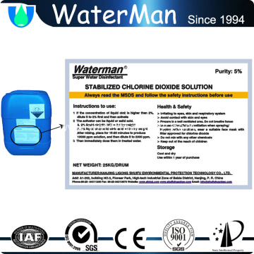 chlorine dioxide for Public Area disinfection