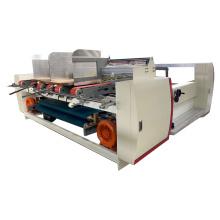 Double pcs semi-automatic corrugated box folder gluer machine