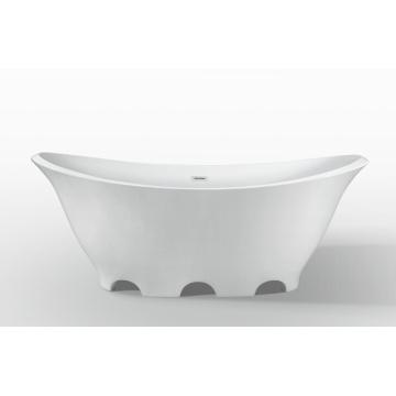 Moderne Acryl Freistehende Badewanne